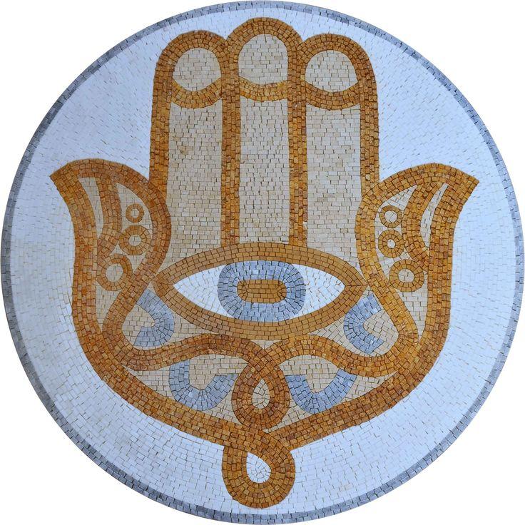 Jewish Mosaic Medallion - Ahimssa