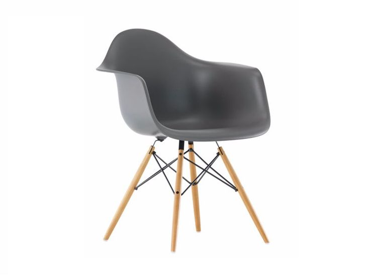 DAW Sedia in polipropilene Collezione Eames Plastic Armchair by Vitra design Charles