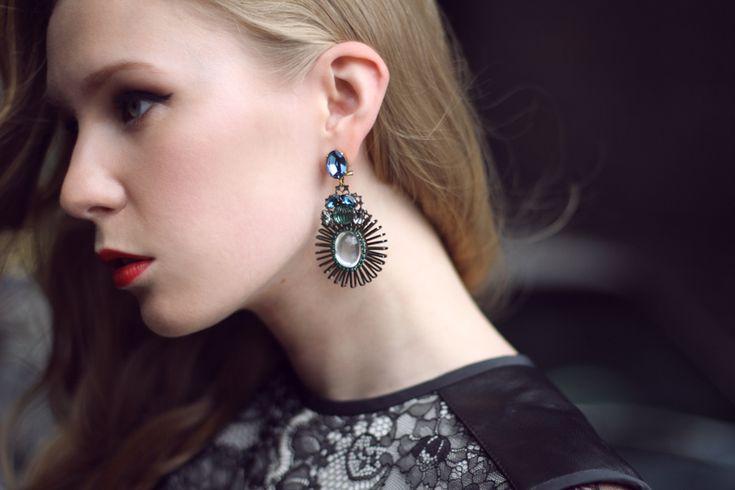 carolina engman - Anton Heunis earrings