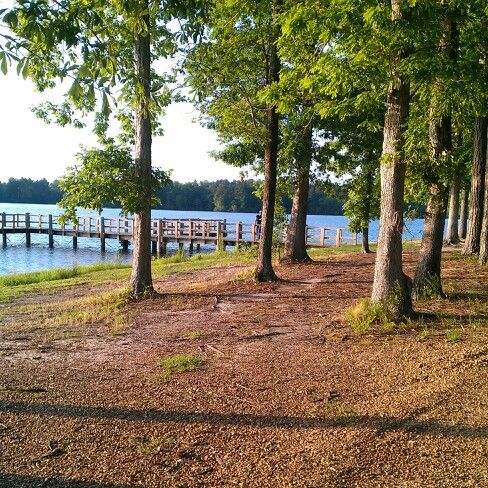 Beautiful day at Lake Lincoln in Brookhaven,  Mississippi