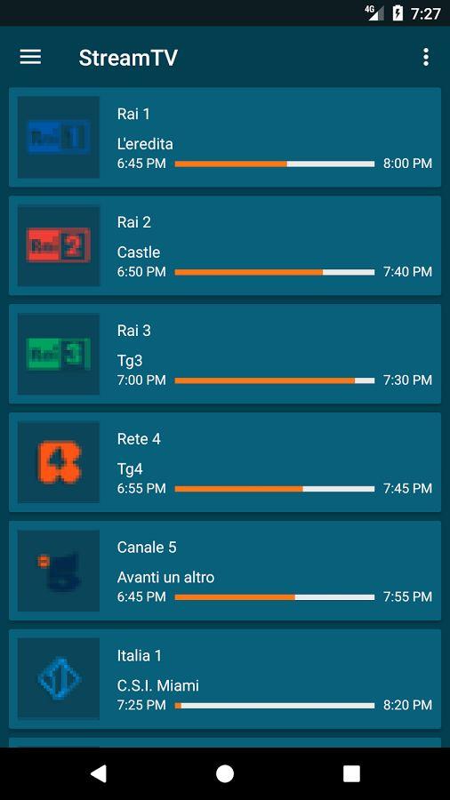 StreamTV Android App