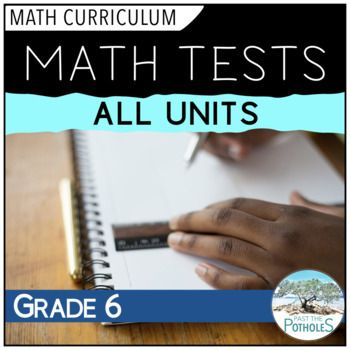Math Tests for every unit of the entire year! #math #tests #assessment #ontario #curriculum #computations #placevalue #measurement #geometry #algebra #patterning #datamanagement #probability #fractions #rates #ratios #fullyear
