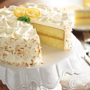 Crisco yellow cake recipe