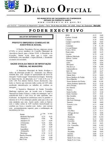 Diário Oficial nº 1.938- 28 de maio (Quarta-feira) - 184Kb