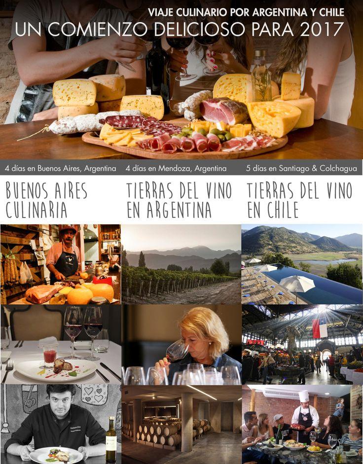 ¿Alguna vez ha probado el tradicional y delicioso asado  argentino? ¿Y los vinos argentinos o chilenos? ¡Tenemos la excusa perfecta para que se de la portunidad! Una magnífica vacación que combina la mejor gastronomía, los sabores locales y fascinantes paisajes en un viaje único. ¡Relájese y disfrute de nuestras experiencias gastronómicas! #tradicional #delicioso #asado #argentina #vinos #chile #vacaciones #gastronomía #sabores #local #paisajes #viaje #disfrute #experiencias