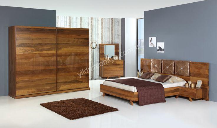 Kral Ahşap Yatak Odası Modern Yatak Odası En Güzel Yatak Odası Modelleri Yıldız Mobilya Alışveriş Sitesinde #bed #bedroom #avangarde #modern #pinterest #yildizmobilya #furniture #room #home #ev #young #decoration #moda       http://www.yildizmobilya.com.tr/