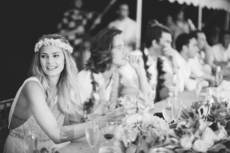 Swept Away: Model Tori Praver and Surfer Danny Fuller's Hawaiian Wedding - Culture - Music, Movies, Art, Profiles, and More