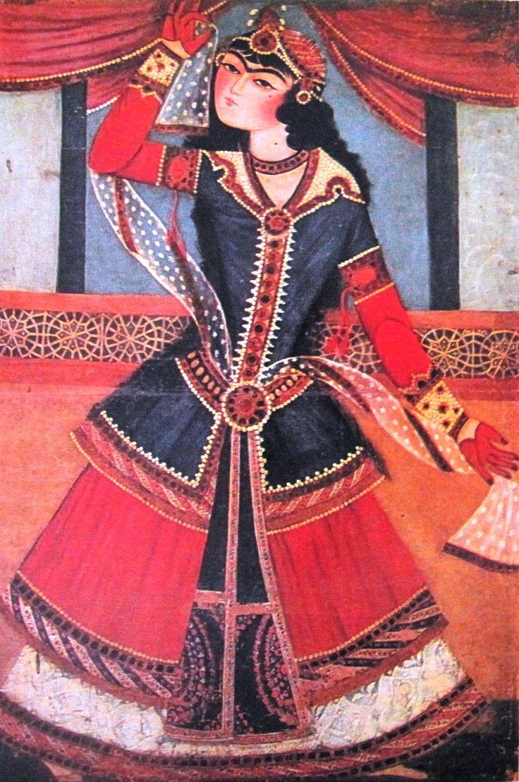 File:Persian dancer (Qajar art, Art Museum of Georgia).jpg ...