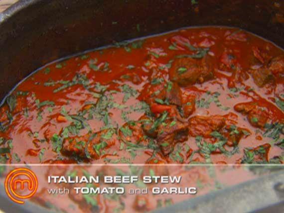 Winning Dishes Gallery   MasterChef Australia Ep 23: Braised beef with tomato sauce  Get Liliana's Braised beef with tomato sauce recipe.