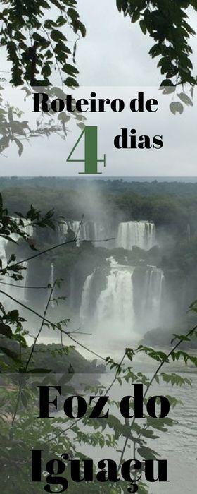 Quatro dias em Foz do Iguaçu. Roteiro com dicas de hospedagem e passeios em família. #FozDoIguaçu