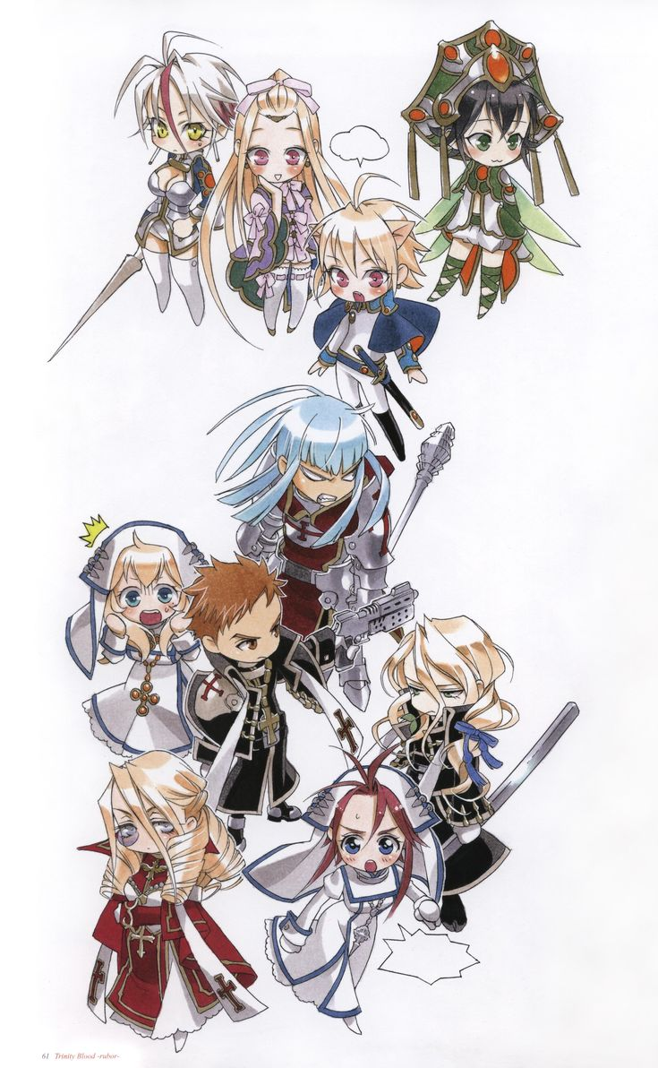 Chibi Trinity Blood