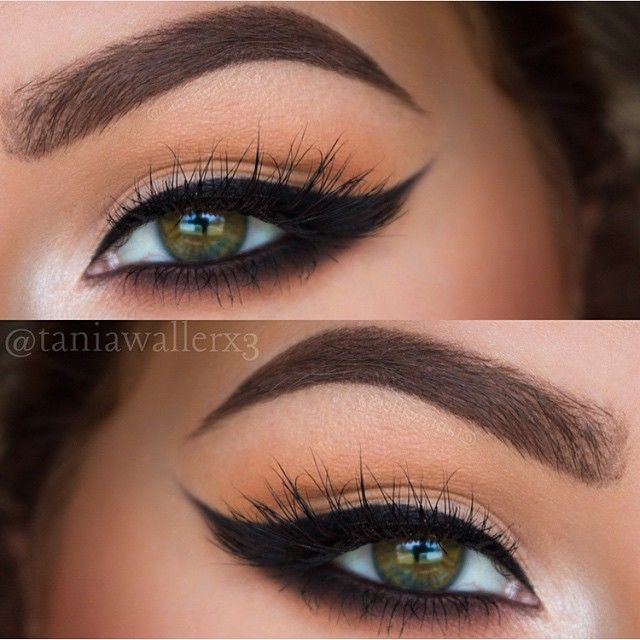 The Cat-Eye effect. Perfect liner paired with Lashmopolitan mink lashes from ESQIDO.