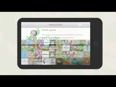 NatureGate mobile app
