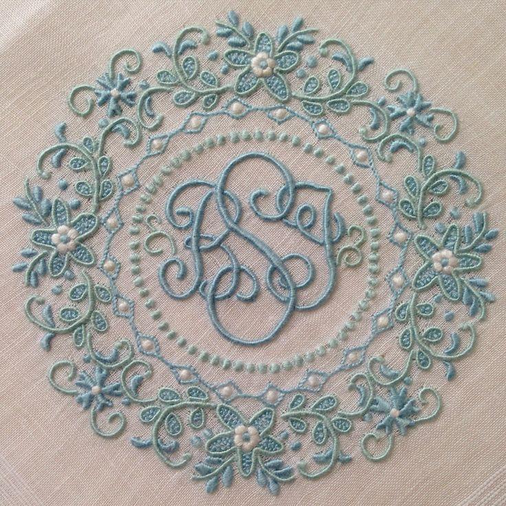 An ornate monogram