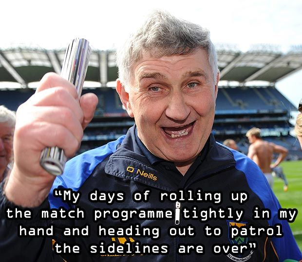 Mick O'Dwyer retires from management.  http://gaabanter.ie/micko-calls-time-managerial-career-good/