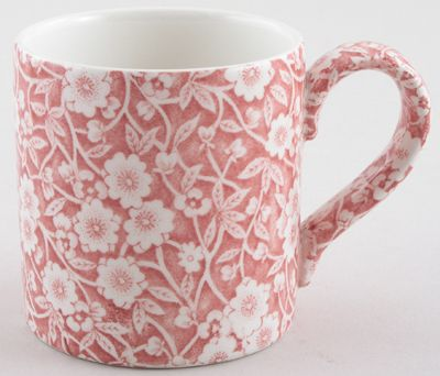 Burleigh - Calico pink - Mug 300ml 8cm high x2 (discontinued)
