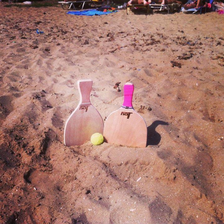 #Rackets on the beach! #Summersport!