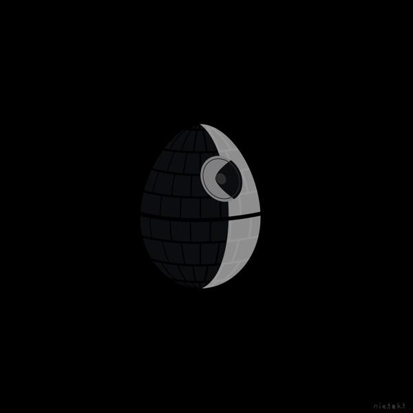 Star Wars Easter by mar cin, via Behance