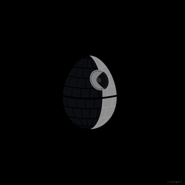 Star Wars Easter by mar cin, via Behance