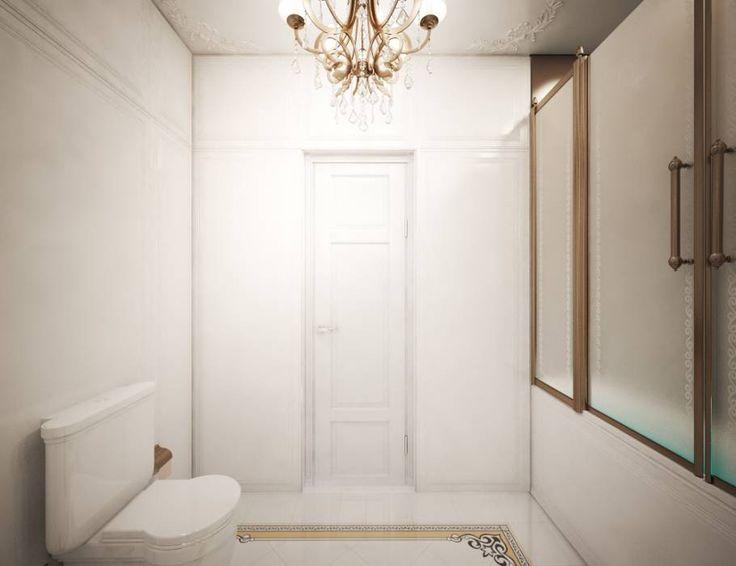 День золота  С древних времен, золото считалось драгоценностью и его наличие говорило о богатстве и достатке. Во времена античности золотой цвет был очень популярен в оформлении и создании интерьера, в том числе и ванных комнат. И в наше время золотой цвет не утратил свою притягательность. Единство стиля и вкуса в дизайне этой ванной комнаты достигнуто благодаря светлому фону, большому количеству света, что позволяет аксессуарам раскрыть свой блеск и красоту. Прекрасное и волшебное место для…