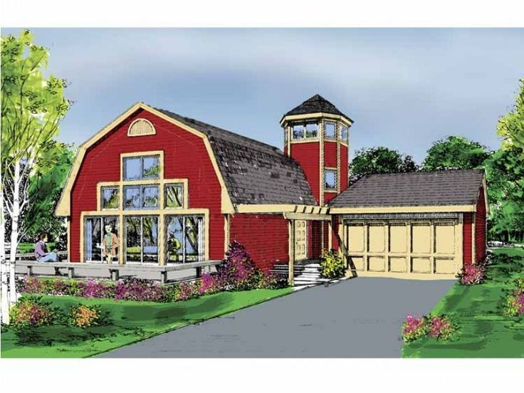 Best 25 gambrel barn ideas that you will like on for Small gambrel house plans
