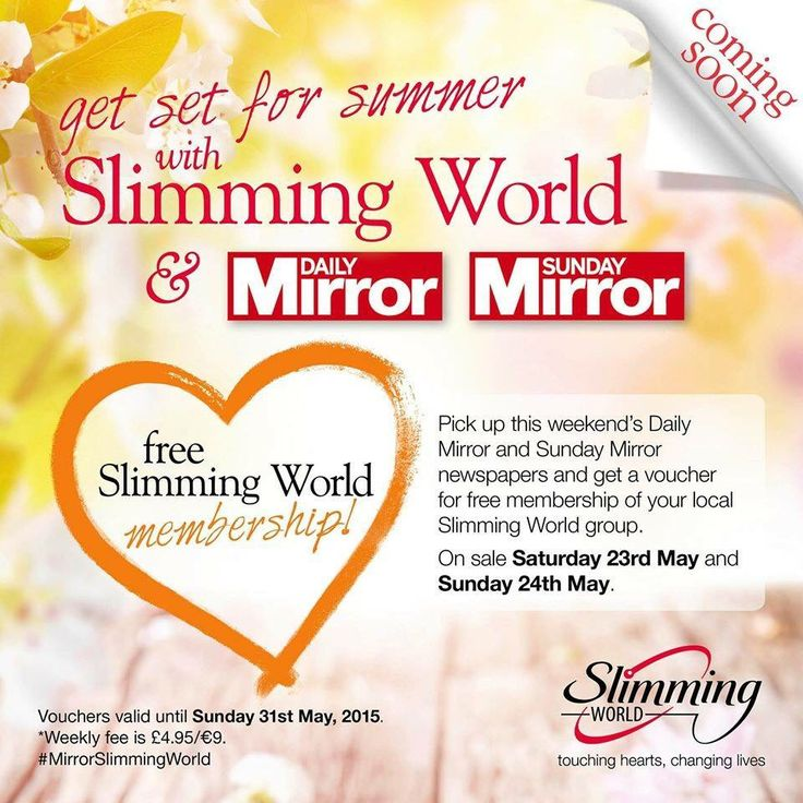 25 best ideas about slimming world free membership on for Slimming world offers