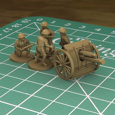 Plastic soldier company - great war - #world war i british #artillery #(15mm scal,  View more on the LINK: http://www.zeppy.io/product/gb/2/252609595654/