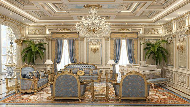 Bespoke Villa Interior Design In Dubai By Luxury Antonovich Design Classical Interior Design Luxury House Interior Design Luxury Interior