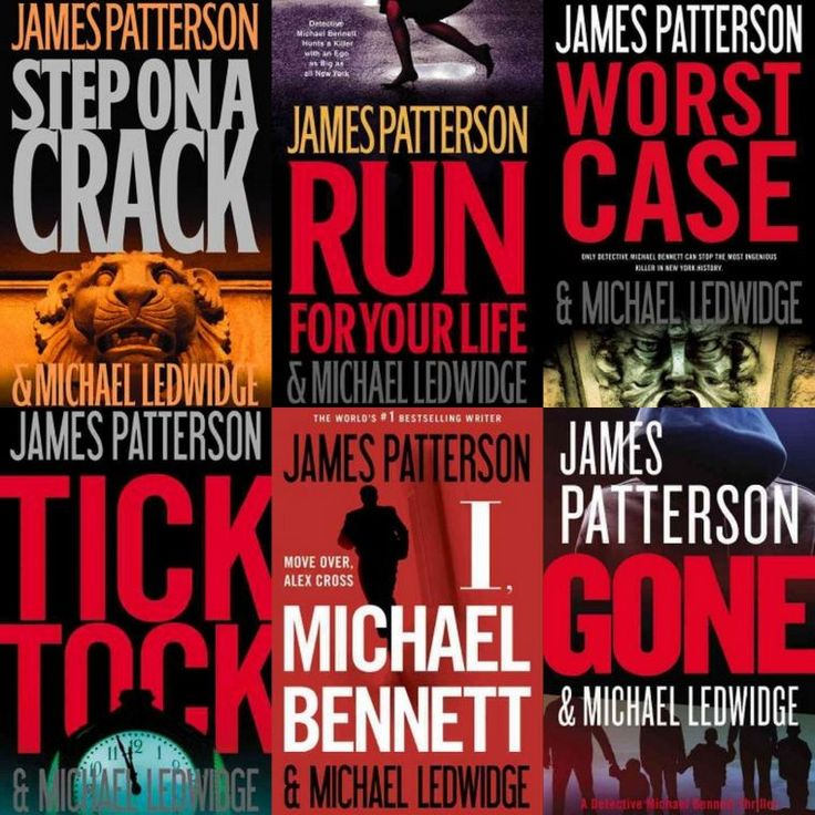 "James Patterson's ""Michael Bennett"" suspense series."