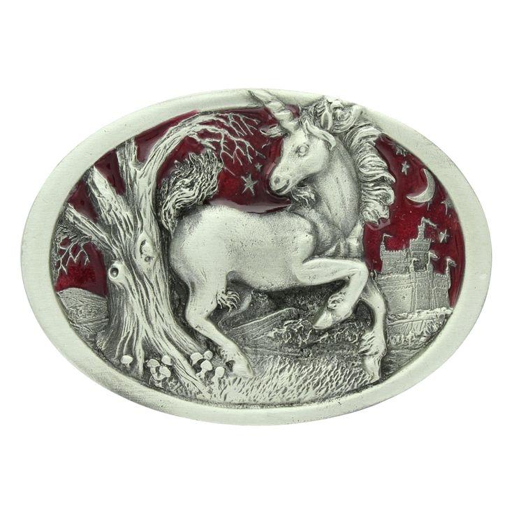 Unicorn Belt Buckle.