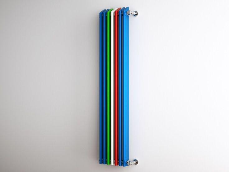 Scarica il catalogo e richiedi prezzi di Linea tricolore by Scirocco H, termoarredo in acciaio a parete, collezione Radiatori