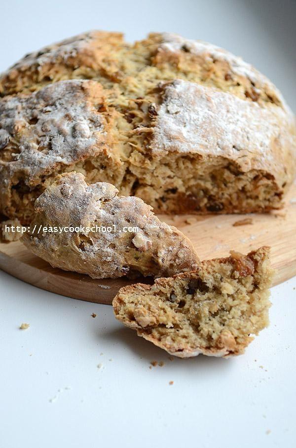 Ирландский содовый хлеб | Легкие рецепты