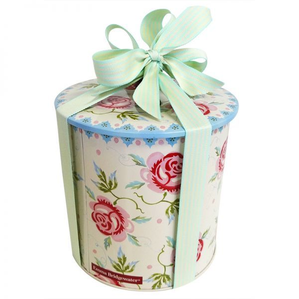 Best Gift For Ladies Part - 27: A Beautiful Vintage Rose And Bee Biscuit Barrel Filled With An Assortment  Of Biscuits And Cookies. Spoil Someone With This Stunning Gift! Gift Lady  Delivers ...