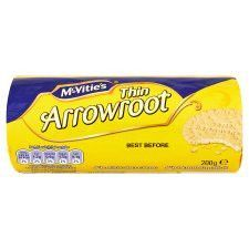 Mcvitie's Crowford Thin Arrowroot Biscuits 200g