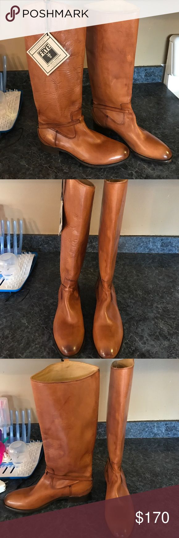 Frye Riding boots Brand new Frye riding boots. Never worn, still with tag. Size 8.5 Frye Shoes Heeled Boots