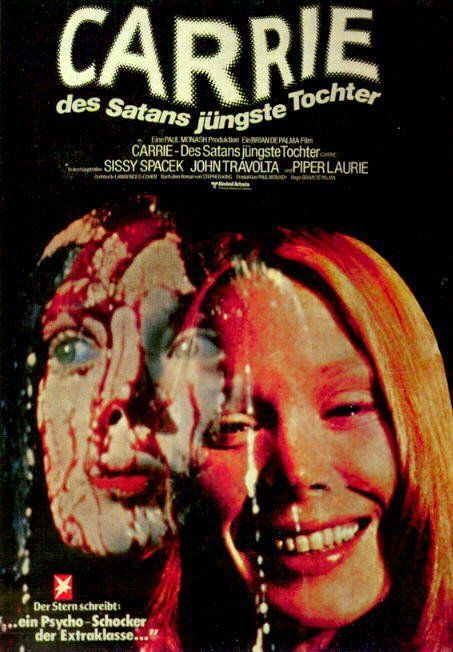 I love classic horror movies. Need to see the first one, seen the 2013 Carrie last night. Very good :)
