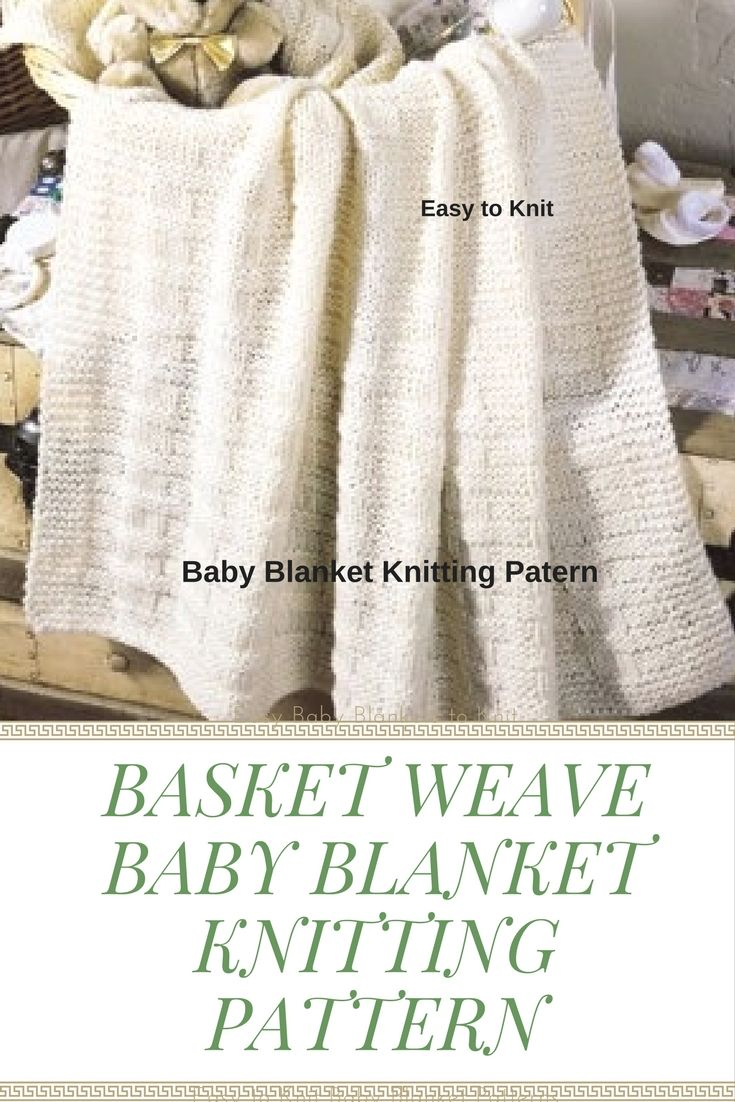 Basket Weave Pattern Knitting Afghan : Best images about knitting patterns on