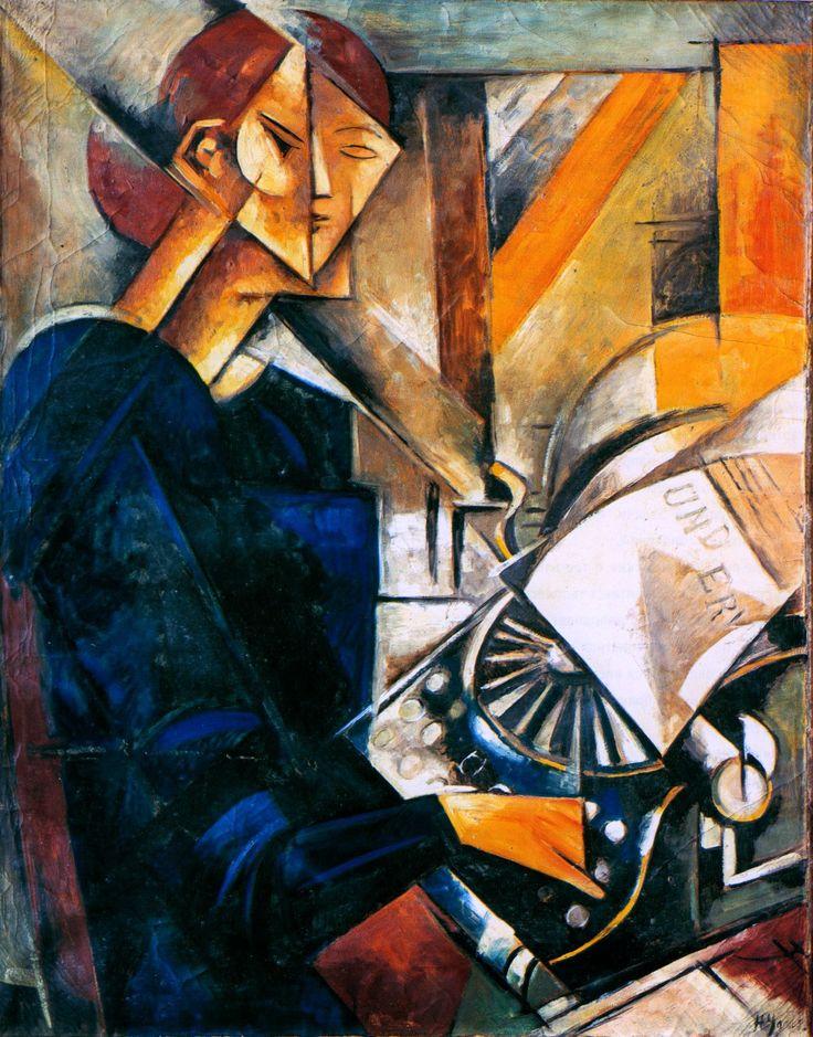 Russian artist Nadezhda Udaltsova