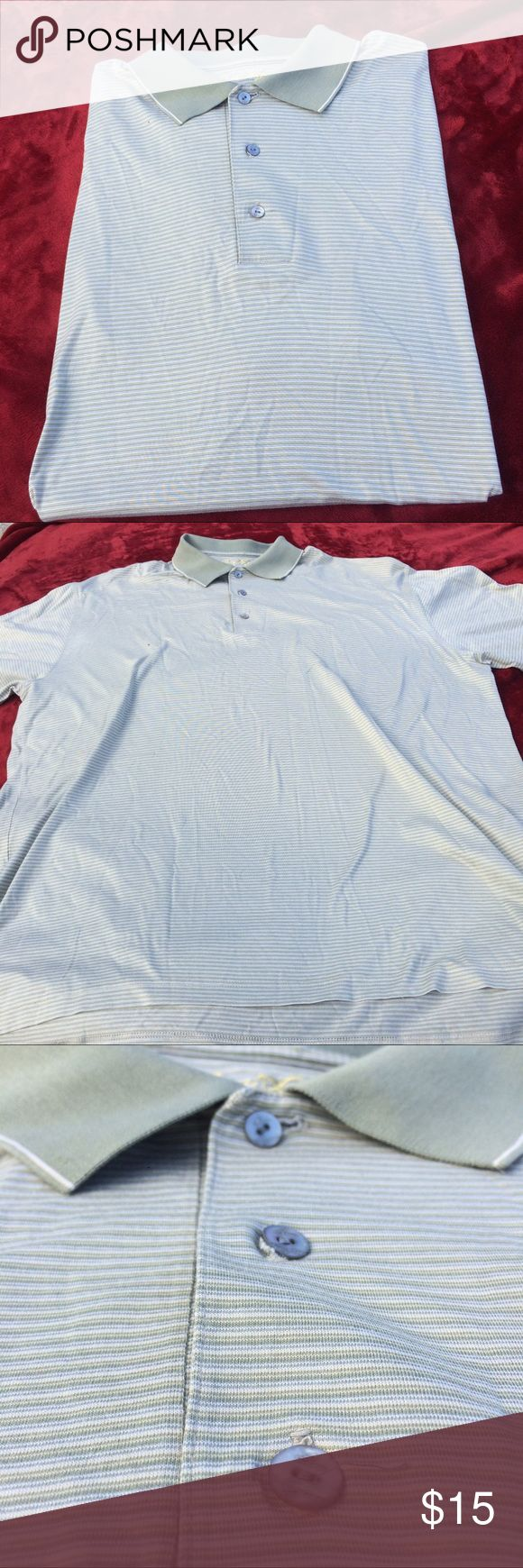 Ben Hogan XL men's golf polo shirt short sleeve Excellent condition. Never used. Old shirt from 2005 has small defect above the ben hogan embroidery. Has Golf Cup Embroidery on one of the sleeves. ben hogan Shirts Polos
