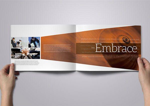 34 best pocket folder inspiration images on pinterest brochure design templates brochures and - Corporate flyer inspiration ...