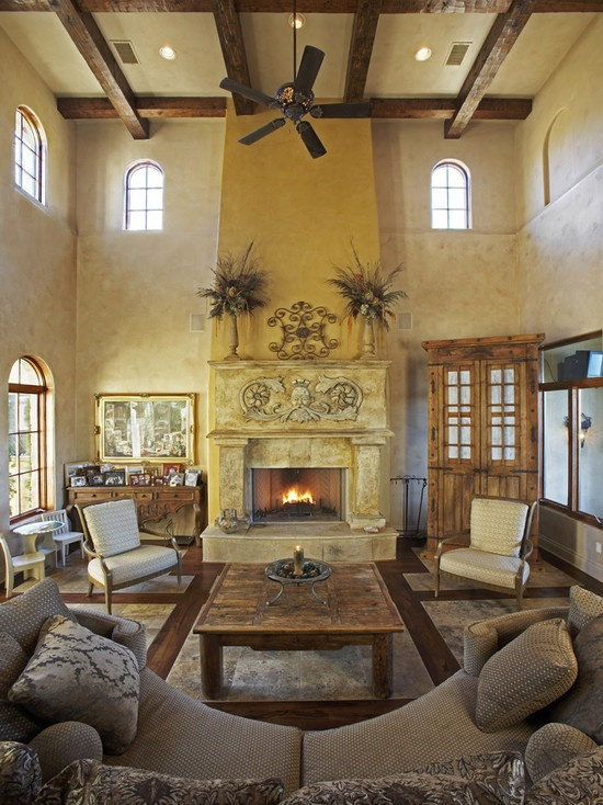 Mediterranean Faux Stone Wall Design, Pictures, Remodel, Decor and Ideas - page 3