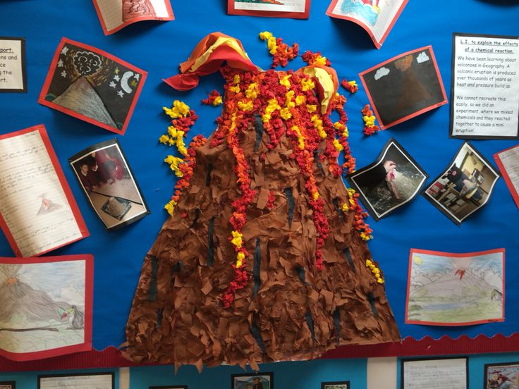 Volcano display