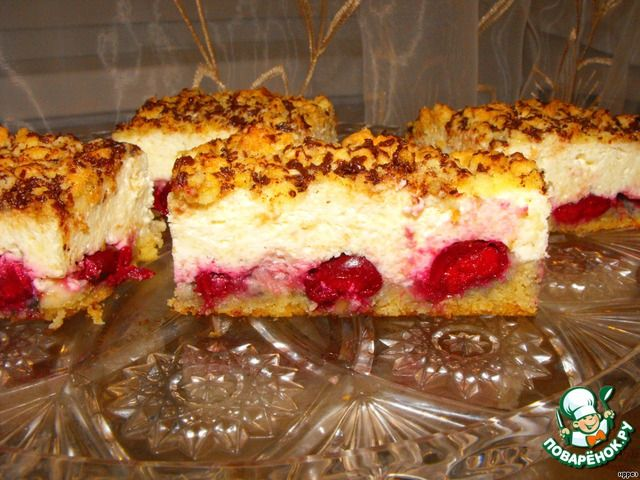 Творожная запеканка-пирог ингредиенты