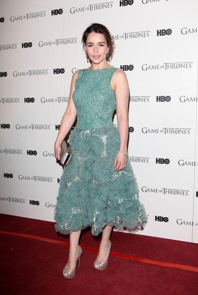 Emilia Clarke - Game Of Thrones - DVD premiere