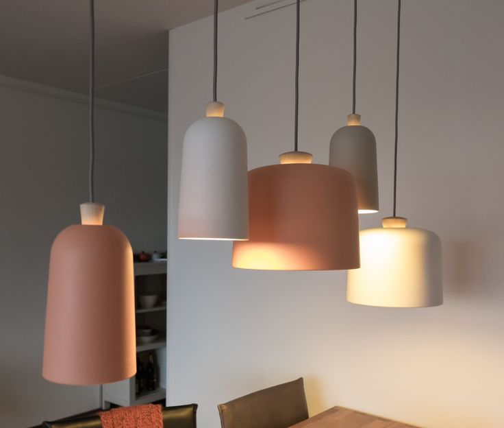 group of Fuse lamps designed by Note Design Studio
