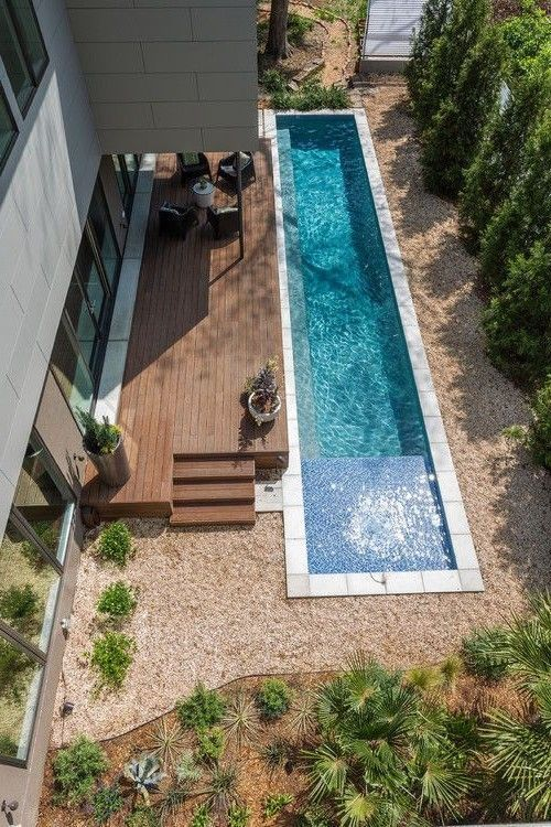 Swimmingpool Landscaping Ideas For a Small Backyard – a Minimalist #SwimmingPool… – Stephanie Kimberly