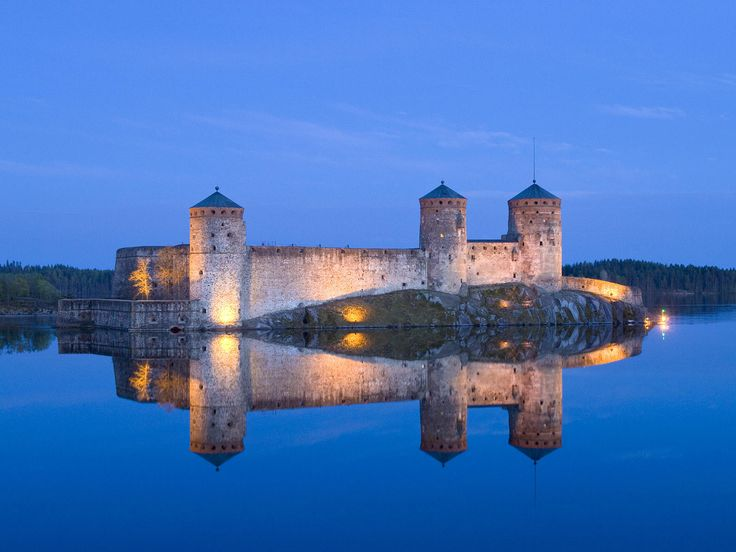 Olavinlinna Castle #Finland #photography