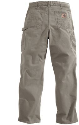 """Carhartt Washed Duck Work Pants for Men - Desert - 30x30: """"""""""""Carhartt's Washed Duck Work Pants are as… #Fishing #Boating #Hunting #Camping"""
