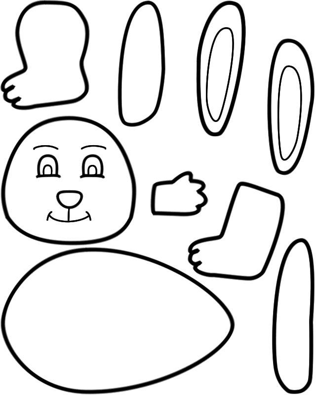 Make an easter bunny
