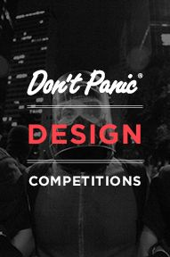 Don't Panic Design Competitions